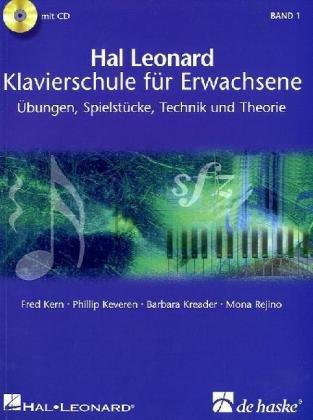 Cover Klavierschule für Erwachsene Hal Leonard