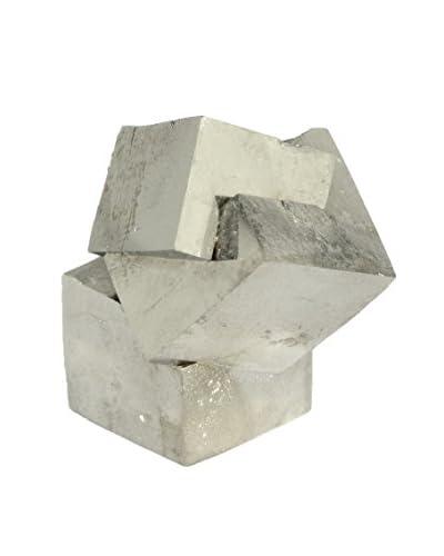 Uptown Down Natural Pyrite Specimen, R01026