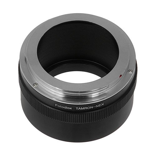 Fotodiox Lens Mount Adapter - Tamron Adaptall (Adaptall-2) Mount SLR Lens to Sony Alpha E-Mount Mirrorless Camera Body