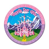 Princess Plates - 9 inch (Sold by 1 pack of 60 items)