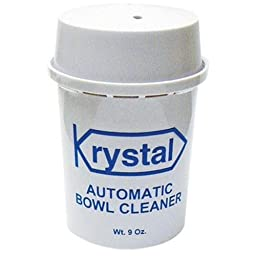 Krystal ABCCT In-Tank Automatic Bowl Cleaner, 9 oz Canister, Water Blue (Case of 12)