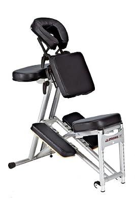 Stronglite Stronglite Ergo Pro Portable Massage Chair, Black, Aluminum