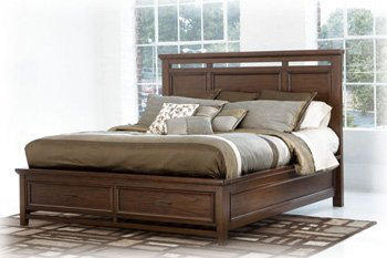 Best Ashley Furniture For Sale Ashley Kenwood Loft Queen Storage Bed In Cont