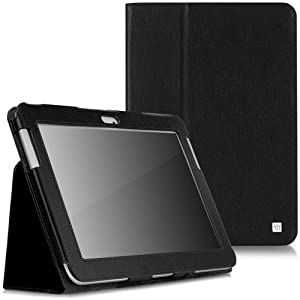 CaseCrown Bold Standby Case (Black) for Samsung Galaxy Note 10.1 (2012 Edition); NOT compatible with Galaxy Note 10.1 (2014 Edition)