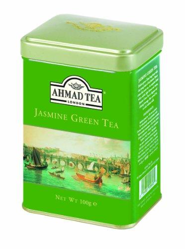 Ahmad Tea English Scene Green Tea, Jasmine, 3.5 Ounce (Green Tea British compare prices)