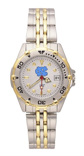 North Carolina Tar Heels Women's All Star Watch Stainless Steel Bracelet at Amazon.com