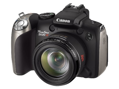 Canon PowerShot SX20 IS Digital Camera (12.1 Megapixel, 20x Optical Zoom) 2.5 inch LCD