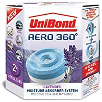 UniBond Aero-360 Moisture Absorber Lavender Scented Refills (2 x Refill)