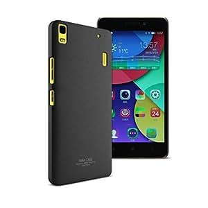 IMAK Cowboy Quicksand Shell Back Cover for Lenovo K3 Note - Black