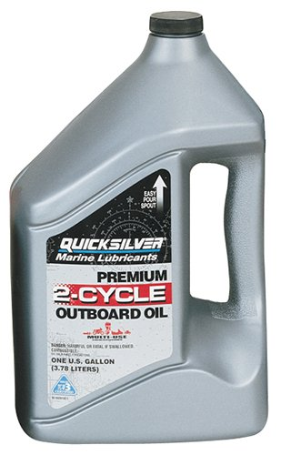 Quicksilver 2815Q1-3PK Premium 2-Cycle Outboard Oil - 1 Gallon Jug, (Case of 3) (Outboard 2 Cycle Motor Oil compare prices)