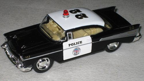 Kinsmart 1/40 1957 Chevy Bel Air Police Car