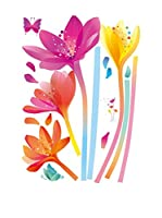 Ambiance Sticker Vinilo Decorativo Rainbow Flowers