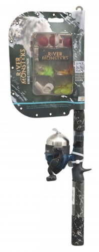 River Monsters Telescopic Spin Cast Combo