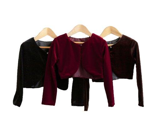 Classy 825 Beautiful Cardigan/Sweater For Girl - Burgundy 6T