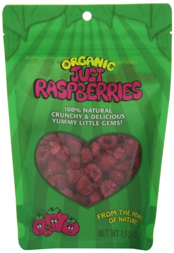 Just Tomatoes Organic Just Raspberries, 1.5 Ounce
