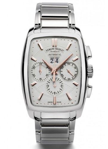 Armand Nicolet TM7 Big Date & Chronograph Watch 9638A-AS-M9630