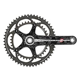 Campagnolo 2011 Super Record Carbon Ultra-Torque 11-Speed Road Bicycle Crank Set w/ Ceramic Cult BB Bearings