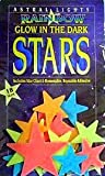 Big Glow In The Dark Rainbow Stars ~ Includes Star Chart and Reusable, Removable