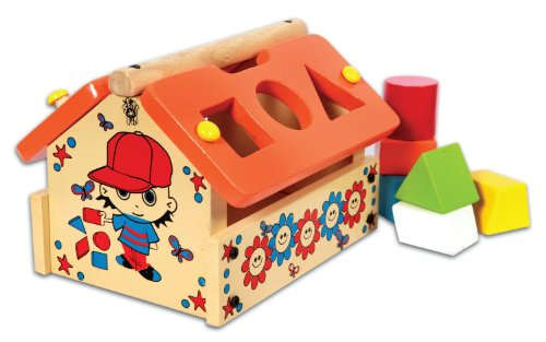Skillofun Posting House Shape Sorter - 1