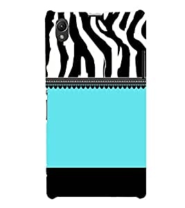 Tiger Pattern Design 3D Hard Polycarbonate Designer Back Case Cover for Sony Xperia Z1 :: Sony Xperia Z1 L39h