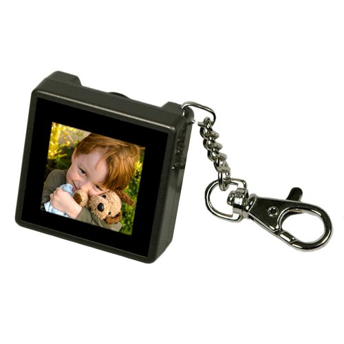 Digital Foci PAO-150 1.5-Inch Pocket Album OLED Keychain Digital Photo Viewer (Warm Gray) (Photo Digital Album compare prices)