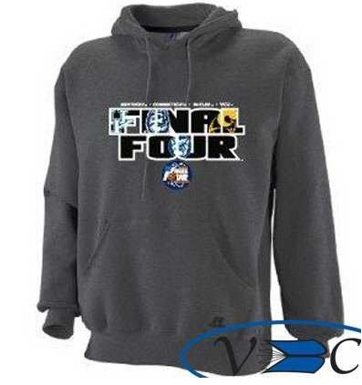 Final Four 2011 Plus Size Hoodie Charcoal Size 2XL