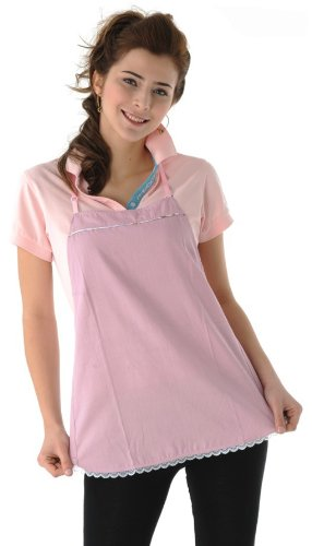 Maternity Clothes, Belly Tee Radiation Shielding Apron, Pink, 8901920