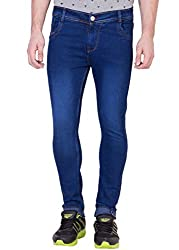 Aeroglide Blue Washed Skinny fit jeans (26)