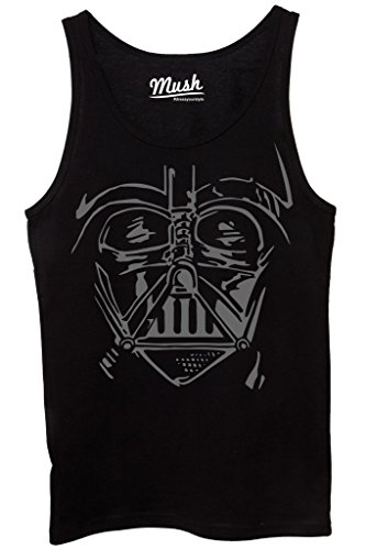 Canotta DARTH VADER FACE - FILM by MUSH Dress Your Style - Donna-M-NERA
