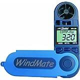 WeatherHawk WM-200 WindMate Hand-Held Wind Meter, Blue