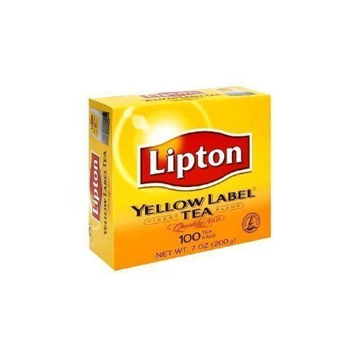 Lipton Yellow Label Tea Bags 100Ct