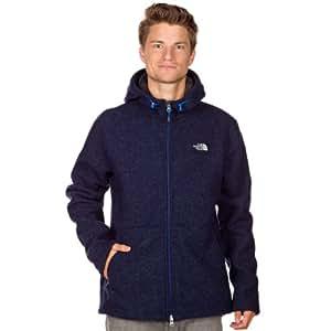 THE NORTH FACE Zermatt Men's Hooded Jacket Full Zip empire blue heather Size:XL