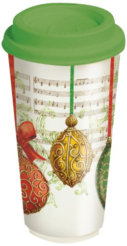 Lang Ornaments Ceramic Travel Cup
