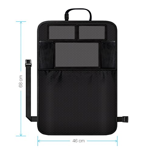 Check Out This Aomaso Kick Mat with Multi-pocket Organizer, Seat Back Covers for Car, SUV, Minivan o...