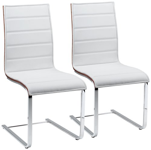 Set Of 2 Mayweather Modern Dining Chairs front-984074