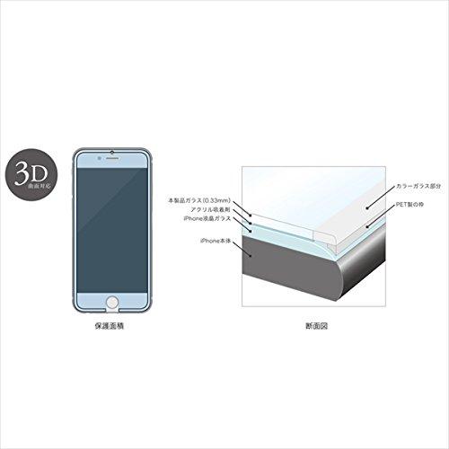 【日本正規代理店品】 TRANSP. SCREEN PROTECTOR Black for iPhone6 Plus 強化ガラス 10H 2.5D 3D対応 液晶全面カバー 4580395343037