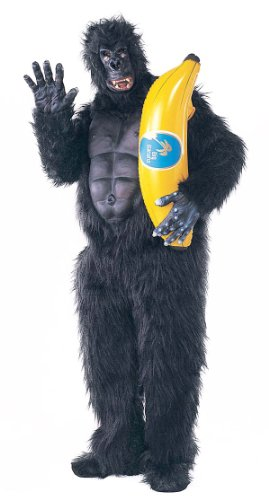 Rubie's Costume Co Men's Gorilla Mascot Costume with Chest Piece