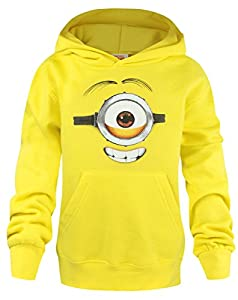 Official Minions Stuart Kid's Hoodie