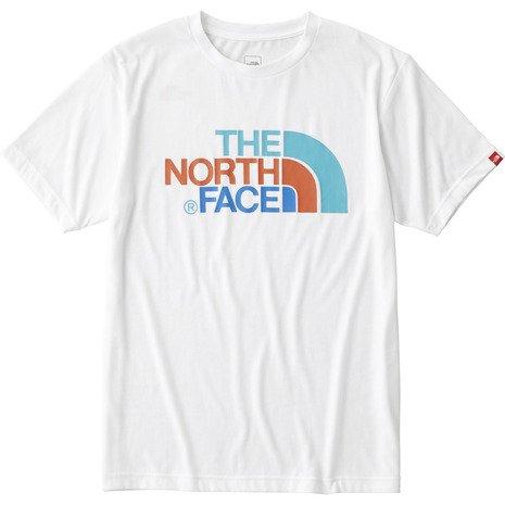 ザ・ノース・フェイス(THE NORTH FACE) ショートスリーブカラフルロゴティー(S/S Colorful Lobo Tee) NT31621 W ホワイト M