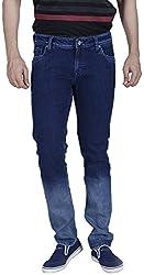 INTEGRITI Men'S Slim Fit Jeans (Attitude-271.S Skft Raw_34, Blue, 34)