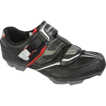 Shimano 2014 Men's Mountain Bike Shoe - SH-XC50N (Black/Red - 47)