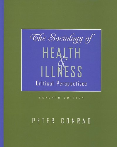 sociology in health and illness an essay Sociology essays – mental health & illness within sociology by admin the best papers 0 comments compare and contrast two of the five attacks to mental wellness & a  unwellness within sociology.