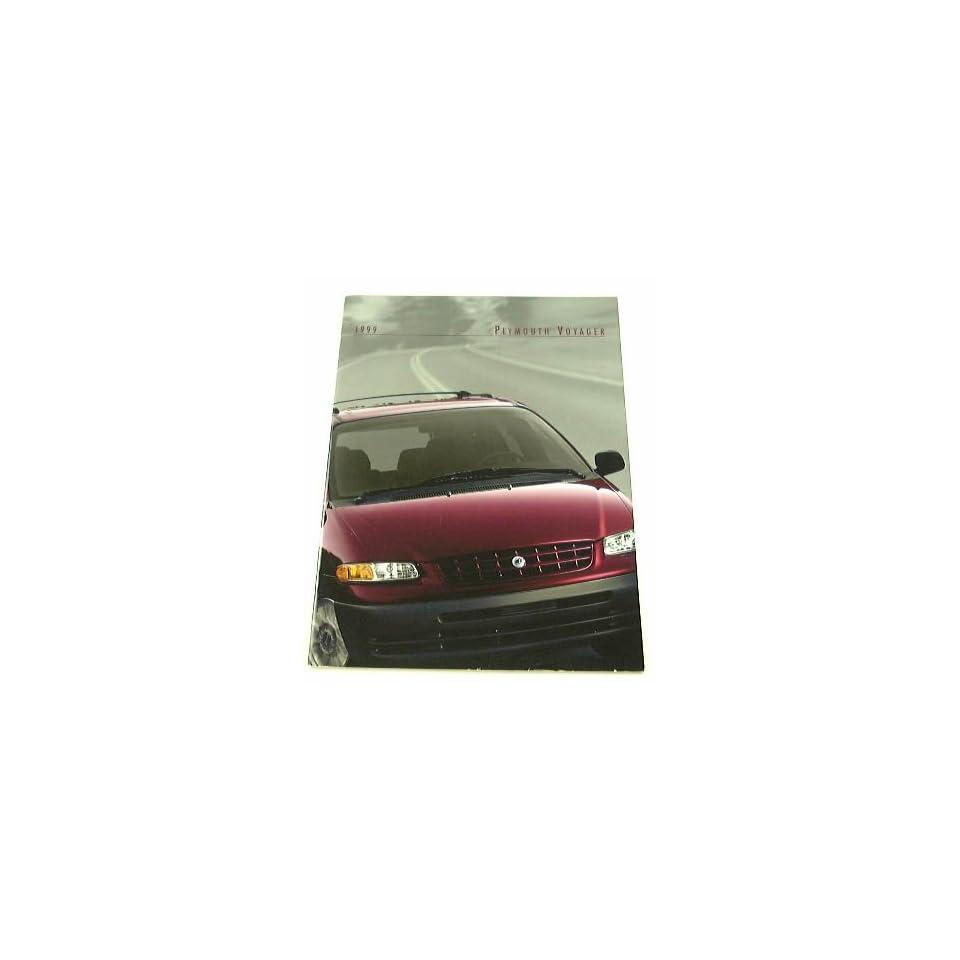 1999 99 Plymouth VOYAGER Van BROCHURE Expresso SE Grand