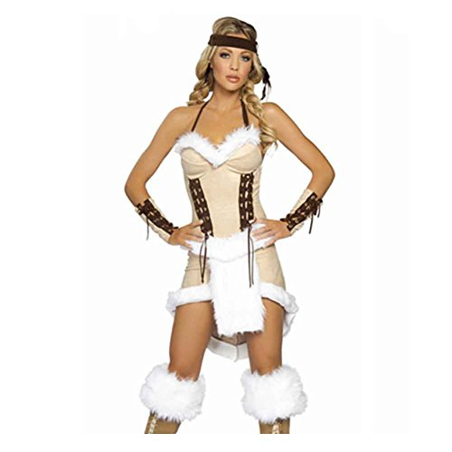 Vinciph Indian Indigenous Halloween Cosplay Stage Performance Uniform