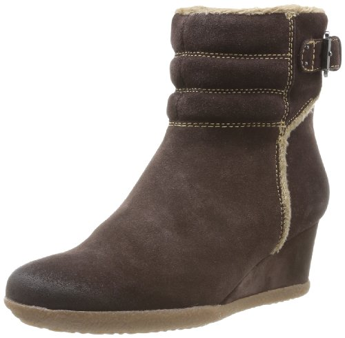 Geox Women's D Amelia St E Boots Brown Marron (Coffee) 7 (41 EU)