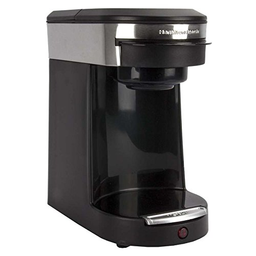 Gold Lion Hamilton Beach Personal 1-Cup Coffeemaker Black front-253536