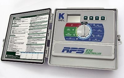 K-rain Irrigation sprinkler controller RPS 616 9 stations Super