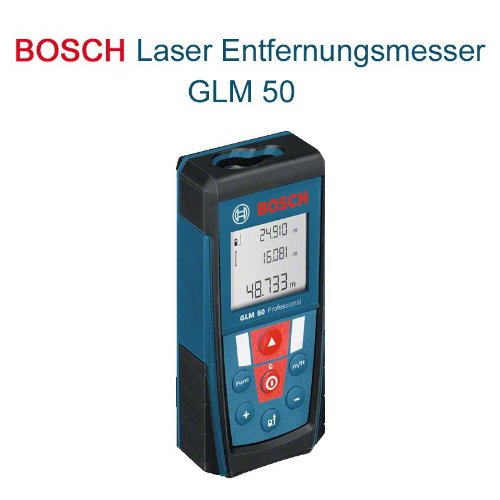 telemetre laser bosch portee 50 m glm 50 06159940b6. Black Bedroom Furniture Sets. Home Design Ideas