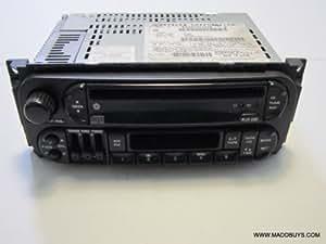 02 03 04 05 06 Chrysler Jeep Dodge Ram Caravan Cherokee Cd Player Radio