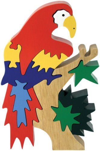 Picture of Fun Imagiplay Bird 3D Wood Puzzle - Parrot in Tree (B0010EJFB0) (3D Puzzles)